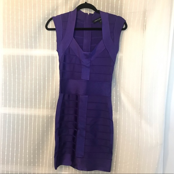 French Connection Dresses & Skirts - Electric Purple 💜 Bandage Cocktail Dress